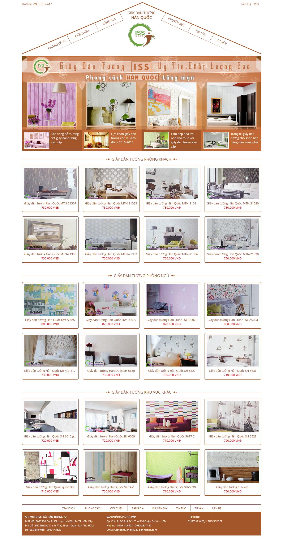 Thiết kế website giấy dán tường giay-dan-tuong.com