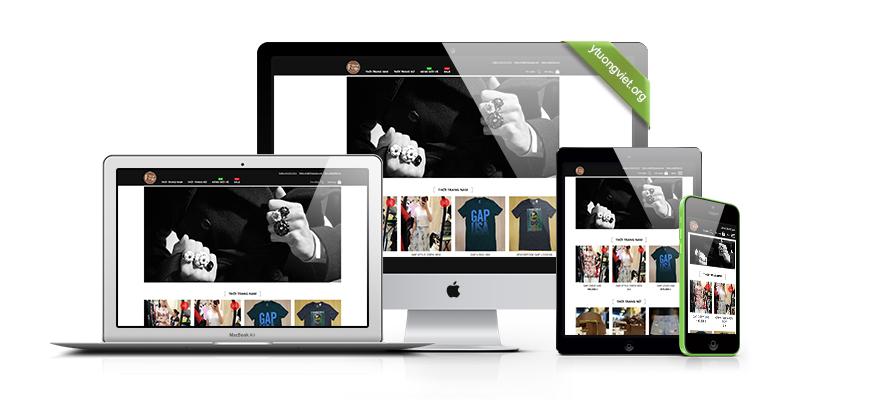 Thiết kế website responsive thời trang 79caugiay.com