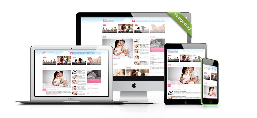 Thiết kế website responsive tin tức Meonuoicon.com.vn