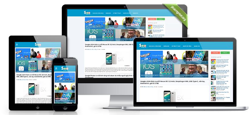 Thiết kế website responsive tin tức seomienphi.net
